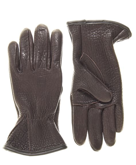 cabela's unlined buffalo skin gloves picture 10