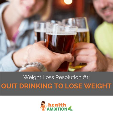 weight loss and quitting drinking picture 3