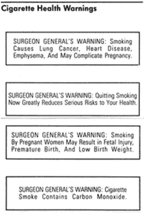 surgeon general warning on smoking 2013 picture 5