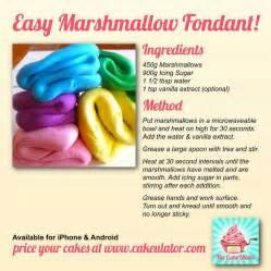 marshmallow fondant recipe picture 1