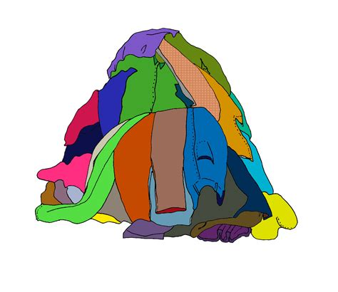 piles of clothes picture 2