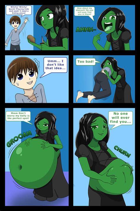 giantess stomach ache picture 5