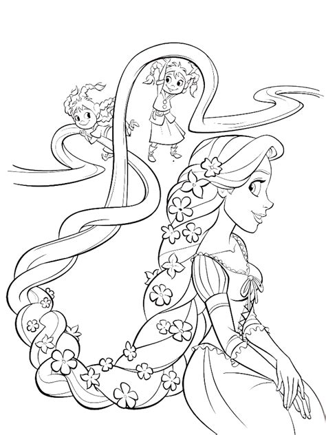 coloring pages on hair picture 13
