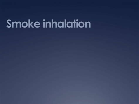 what to do for smoke inhalation picture 7