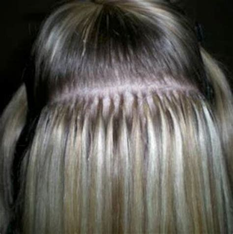 flat tip hair extensions picture 3