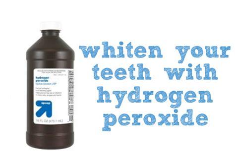 hydrogen peroxide baking soda whiten teeth picture 5