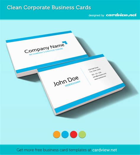 free online business card templates and photos picture 8