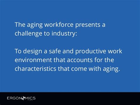 and the ageing workforce picture 10