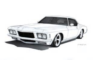 muscle car art picture 7
