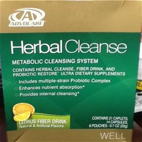 what is in advocare herbal cleanse tablets picture 1
