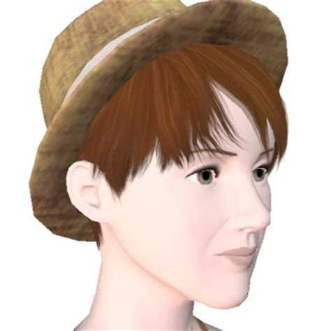 sims 2 fedora hair picture 1