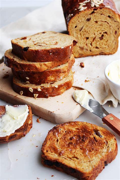 whole wheat walnut raisin yeast bread recipe picture 8