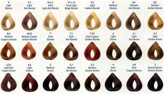 clariol hair color chart picture 6
