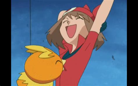 pokemon may's large breast picture 5