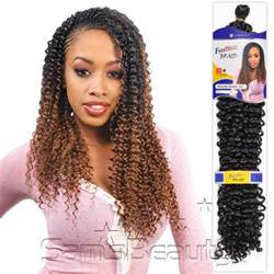 bohemian synthetic braiding hair picture 3