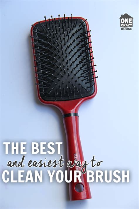 cleaning of hair brushes picture 13