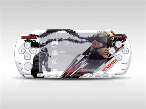 metal gear solid psp skin picture 2
