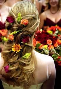 bridal hair styles with flowers picture 10