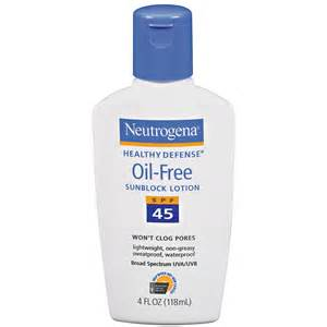 oil free non acne causing sunscreen picture 10