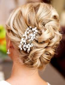 curly frizzy hair updo for wedding picture 4