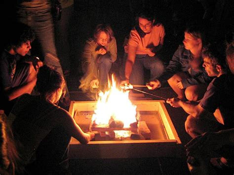can you roast marshmellows on gel fire pit? picture 1