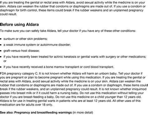 aldara cream side effects pictures picture 3