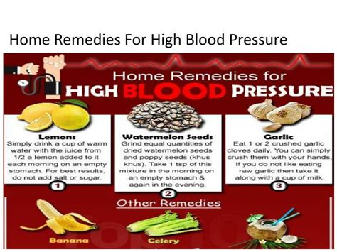 Remedies for hypertension and high blood pressure picture 6