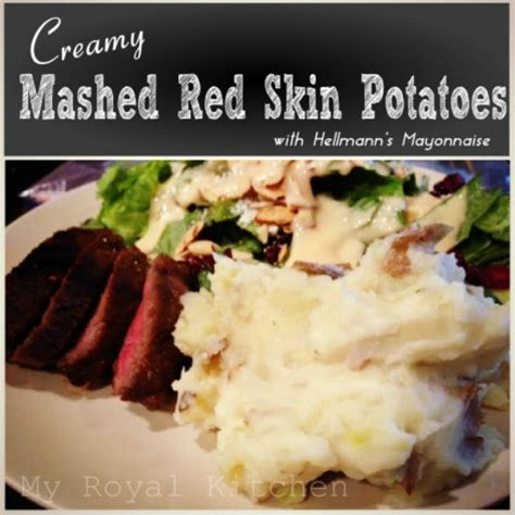 red skin mashed potatoes picture 2