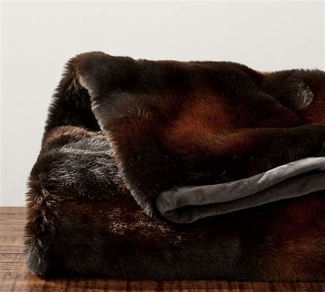 faux bear skin blanket picture 11