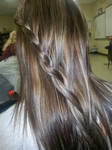 dark brown hair caramel highlights picture 14