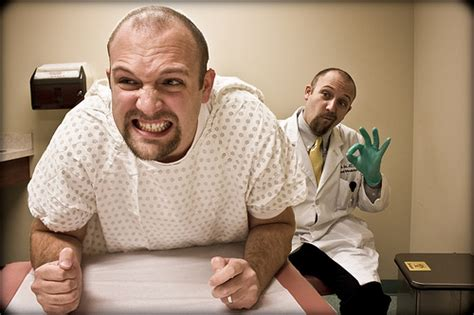 female doctor for prostate exam on man in picture 10