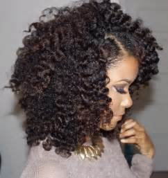 natural hair curly twist picture 7