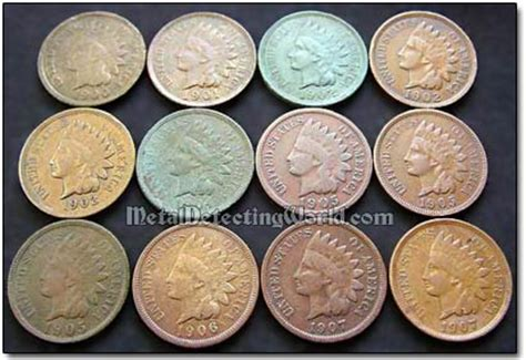 aging copper coins natural picture 2