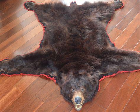 faux bear skin blanket picture 18
