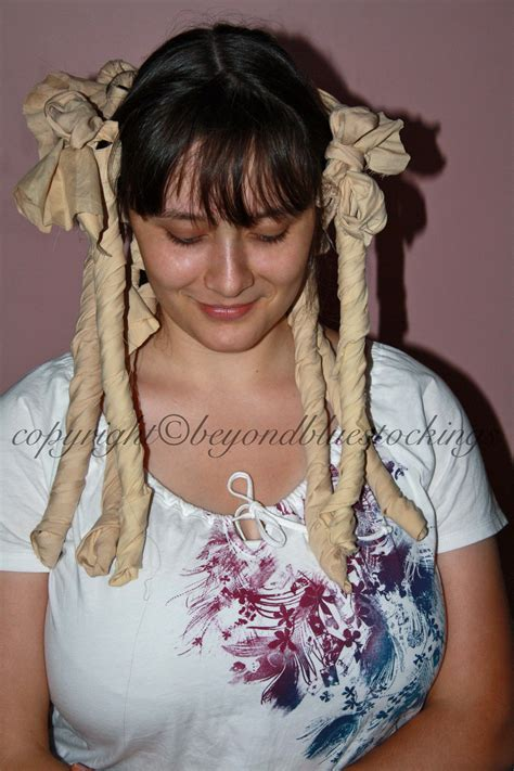 curling hair with rags picture 10