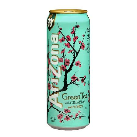 arizona diet green tea with ginseng picture 15