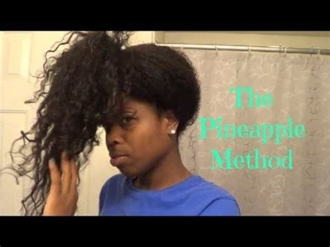 pineapple hair relaxer picture 1
