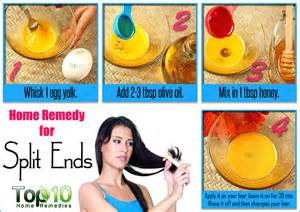 home remedies for dry hair and split ends picture 2