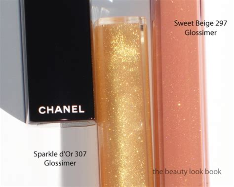 channel glossimer sunset gold lipstick picture 7