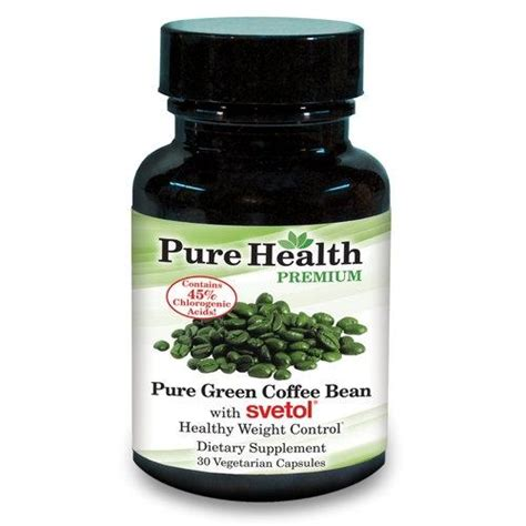 pure green coffee bean capsule supplement picture 4