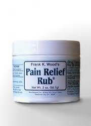 frank woods menthol rubbing pain relief cream picture 5