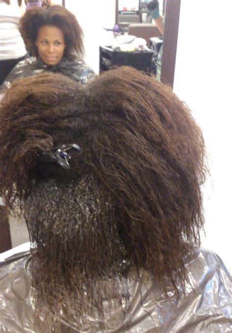 can you straighten permed hair picture 6