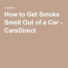how to get rid of cigarette smoke smell picture 9