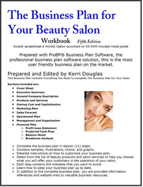 samples business plan for hair products picture 9