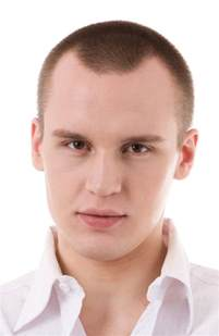 hair cuts for receding hair lines picture 1