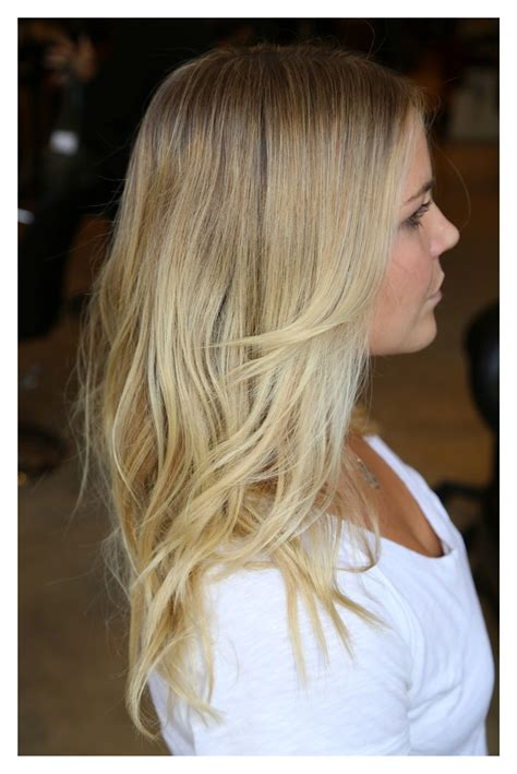 pure blonde color hair picture 14