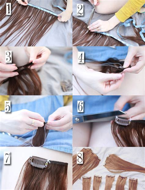 clip in hair extension tutorial picture 11