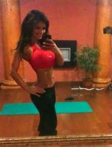 denise milani weight loss before and after picture 14