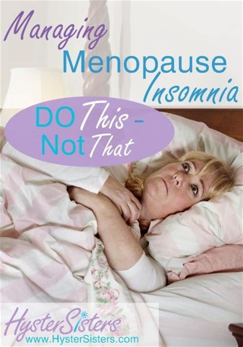 anxiety and insomnia during pre menopause or after hystectomy picture 1