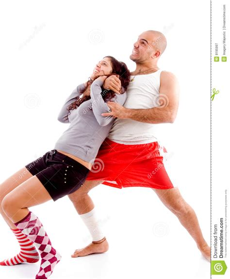muscle woman fight men picture 2